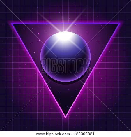 sci-fi sphere background2