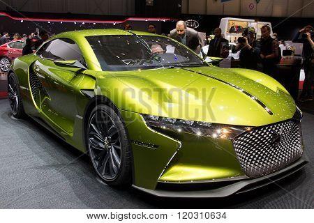 Citroen Ds E-tense Gt Concept Car