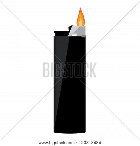 Black Pocket Lighter