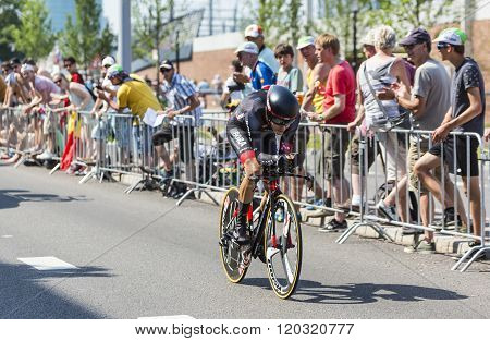 The Cyclist Emanuel Buchmann - Tour De France 2015