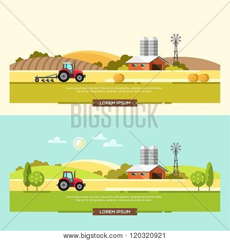 Agriculture and Farming Agribusiness Rural Landscape