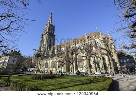 Switzerland, The Bern Cathedral