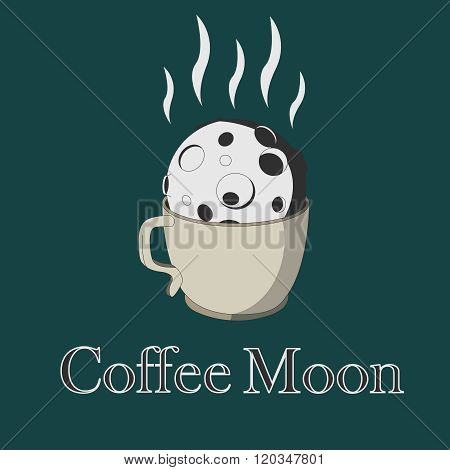 Coffee and moon