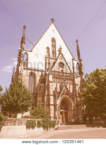 Thomaskirche Leipzig Vintage