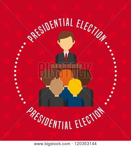 government elections design, vector illustration eps10 graphic poster