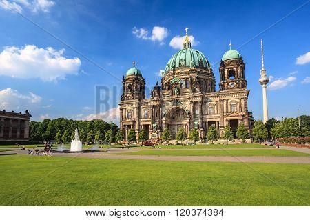 Berlin Cathedral Or Berlin Dom , Berlin , Germany