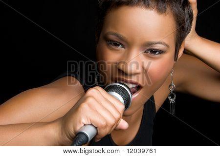 Singing Black Woman