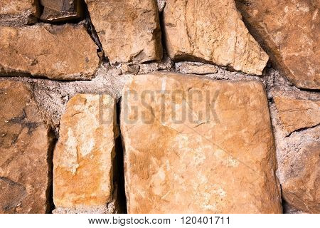Large Glossy Stone Wall