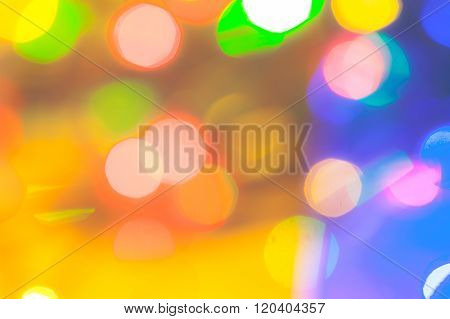 lot of colorful flare