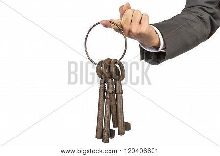 Bunch Of Keys Hand