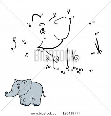 Numbers Game, Dot To Dot (elephant)