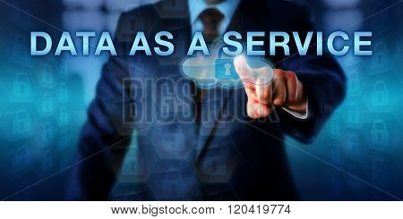 Solution Provider Pressing Data As A Service
