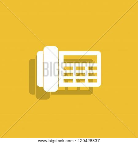Phone Icon. Flat Design Style