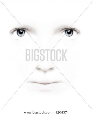 Loveley White Face