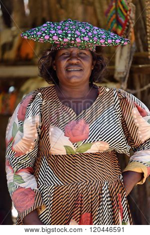 Herero Woman, Namibia
