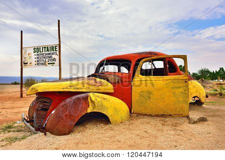 Abandoned Old Hudson Car