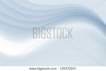 Transparent soft futuristic satin swoosh border certificate business card abstract modern hi-tech background. Vector. Clip-art poster