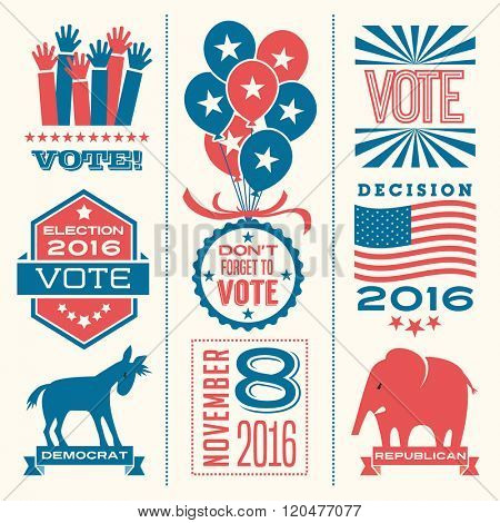 vote design elements 2016 election united states