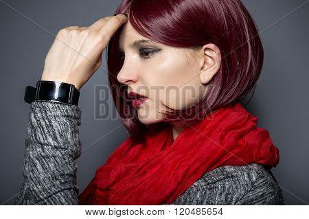 Tech Wearable Fashion Smartwatch
