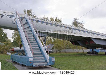 Tu-144-supersonic Passenger Liner(1968).max.speed,km/h-2500.the First Supersonic Passenger Liner In