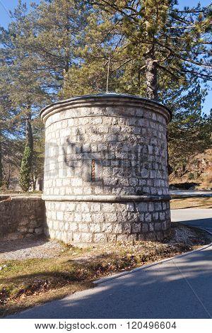 Tower Of Biljarda In Cetinje, Montenegro
