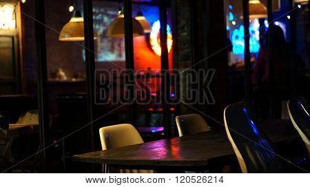 Abstract Pub Abd Bar Restuarant For Night Life