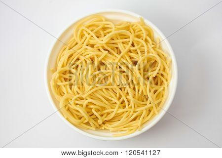 Spaguetti Into The Pot