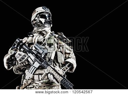 Cyber army soldier