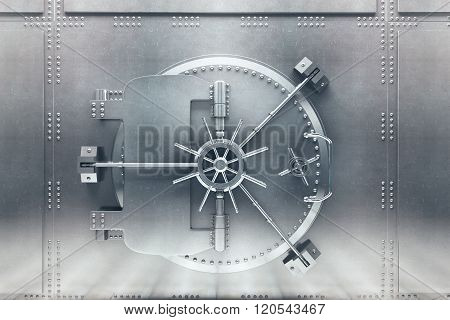 Silver Bank Vault Front