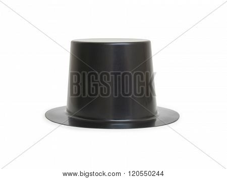 Black Magic Hat Isolated On A White Background