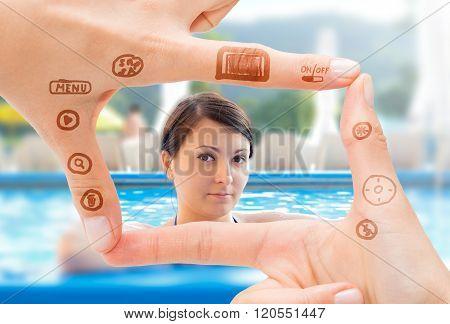 Hand Symbol That Means Digital Camera