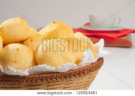 Traditional Brazilian Cheese Bread