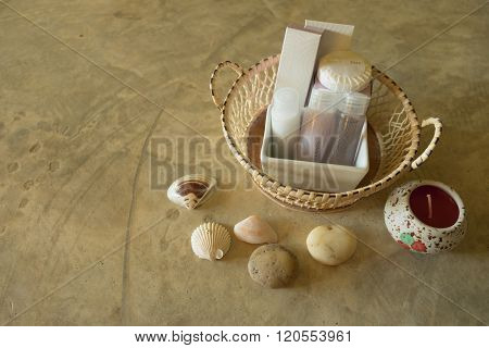 amenities set