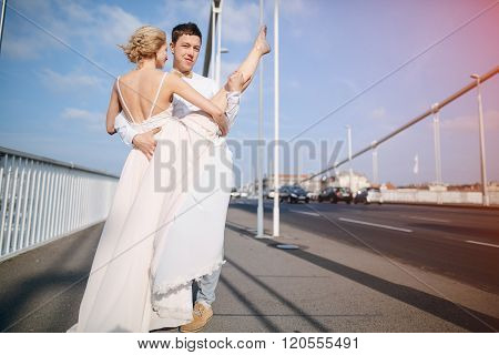 wedding day in Budapest