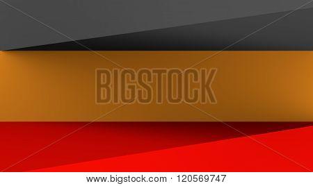 Germany flag design concept