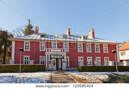 Former British Embassy (1912) In Cetinje, Montenegro