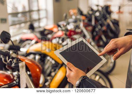 Modern Motorbike Salon