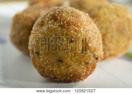 Sicilian Fried Arancina