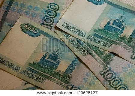 One Thousand Rouble Notes