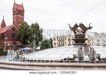 Monument on Independence Square