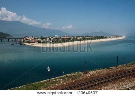 Scenic Lang Co Beach