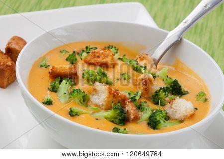 Broccoli - Cheddar Soup