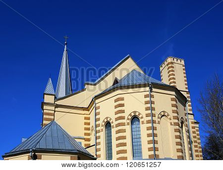 Cathedral In The Gothic Revival Style