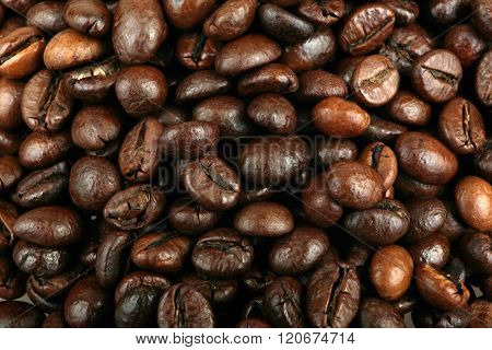 Roasted Coffee Beans Background Stock Photos Color Image