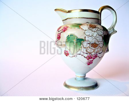 Handpainted Pitcher
