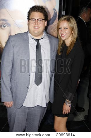 Jonah Hill at the World premiere of