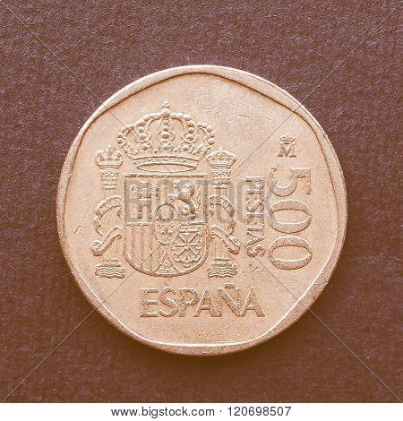Euro Coin Vintage