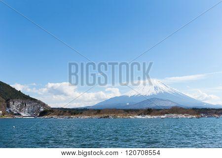 Lake Shoji and Fujisan