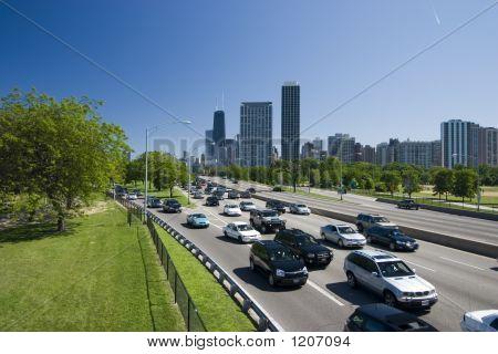 Lakeshore Drive Traffic