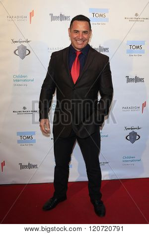 MALIBU - MAR 5: Pete Pietri at the Children International Charity's 'Share The Love Around The World' Fundraiser at Rocky Oaks Malibu on March 5, 2016 in Malibu, California